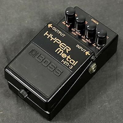 BOSS HM-3 Heavy Metal Guitar Effects Pedal japan FreeShipping