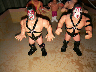 WWF WWE Demolition Ax And Smash Series 1 1990 Hasbro Figures