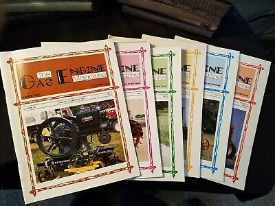 The Gas Engine Magazine 1984 Issues 1-to 6 Complete Year Illustrated Clean