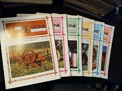 The Gas Engine Magazine 1982 Issues 1-to 6 Complete Year Illustrated Clean