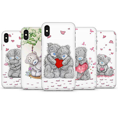 TINY TATTY TEDDY BEAR Love couple cute phone Case cover fit iPhone 6 X Xs 8 11 p