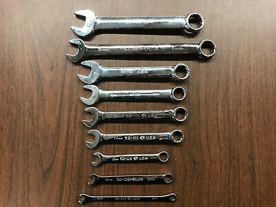 Armstrong Combination Wrenches 12 Point - Custom Metric Set - 6 mm to 17 mm