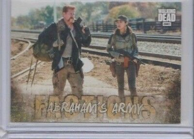 2018 Topps The Walking Dead Road To Alexandria Factions Insert Trading Card #F-4