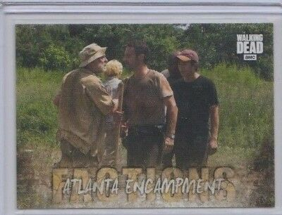 2018 Topps The Walking Dead Road To Alexandria Factions Insert Trading Card #F-1