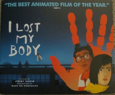 I Lost My Body 2019 Official Promo Fyc For Your Consideration 20-Page Booklet