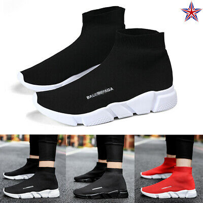 Womens Designer Style Knit Speed Sock Runner Shoes Trainers Fitness Sneakers Hot