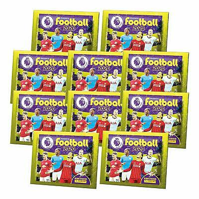 Panini Football 2020 Premier League Stickers 5, 10, 20 Packs & Full Box