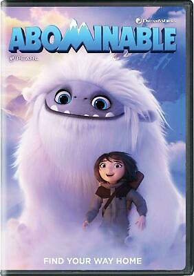 Abominable (DVD, 2019) NEW - Sealed -FREE SHIPPING