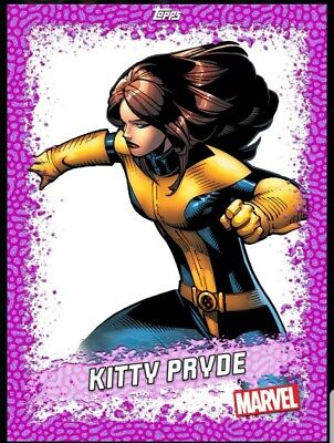DIGITAL CARD Topps Marvel Collect 2020 Kitty Pryde Pink Base DIGITAL CARD