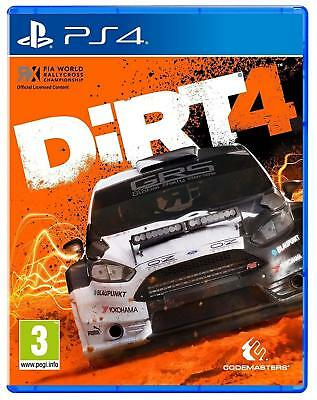 Dirt 4 For PS4 (New & Sealed)
