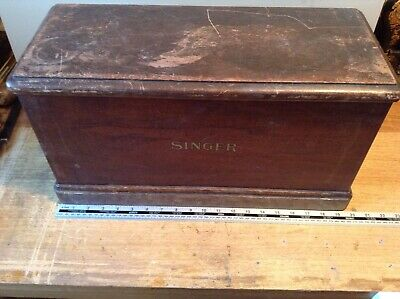 Vintage Sewing Machine Cover Box - Singer