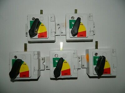 Lot of 5 Eaton Variable Depth Handle Rotary Circuit Breaker Switch Operator