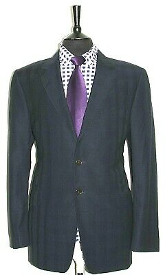 Luxury Mens Paul Smith The Westbourne Navy Striped Suit 44R W38 X L32.5