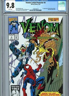 Venom Lethal Protector #4 CGC 9.8 1st Scream Marvel Comics 1993