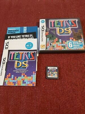 Tetris DS (Nintendo DS, 2006) -Complete CIB TESTED