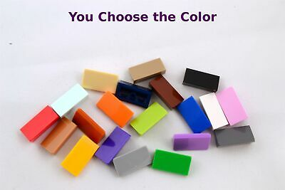 Lego 2x2 Slope Inverted Blue Green Orange Gray Tan Red White Purple YOU CHOOSE