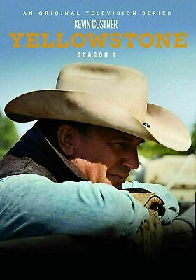 Yellowstone: First Season 1 (DVD, 2018, 4-Disc Set) Brand New, Free shipping