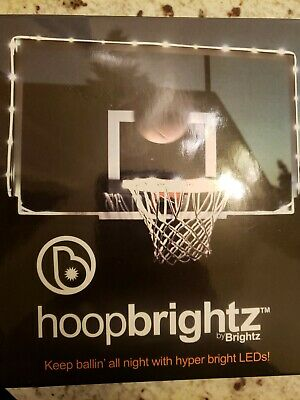 Brightz HoopBrightz Hyper LED Basketball Hoop and Backboard Accessory Light NIB