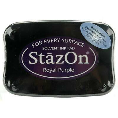 ROYAL PURPLE - StazOn Solvent Ink Pad