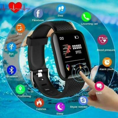 Waterproof Bluetooth Smart Watch Phone Mate For iphone IOS Android Samsung LG-