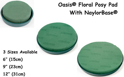 OASIS® Posy Pad Ideal Floral Foam NAYLORBASE® Fresh Flowers Wedding Floristry