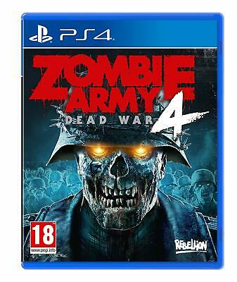 Zombie Army 4: Dead War (PS4) BRAND NEW SEALED