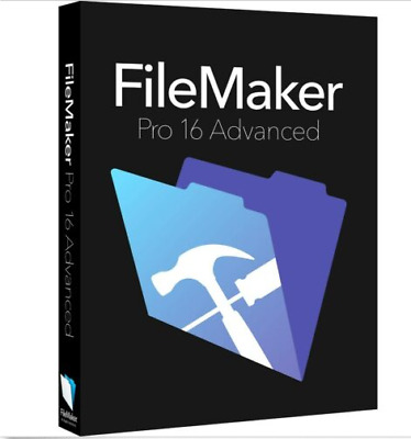 FileMaker Pro 16 Advanced For MAC & WINDOWS LICENSE KEY ACTIVATION  ✅