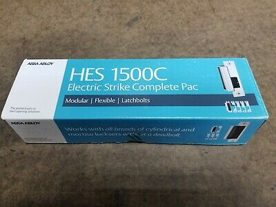HES Assa Abloy 1500C-630 Electric Strike Complete Kit, Stainless, Factory Seal