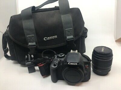 Canon EOS Rebel T2i 18.0MP Digital SLR Camera No Battery or Charger (SB1042862)