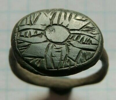 Ancient Bronze Viking Signet