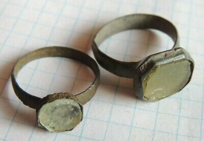Ancient bronze rings