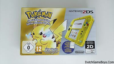 Nintendo 2DS Pokemon - Special Pikachu Edition - NEW