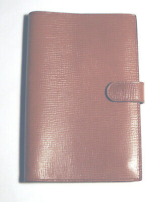 NEW Vintage PINEIDER Leather ADDRESS BOOK Light Brown ITALY