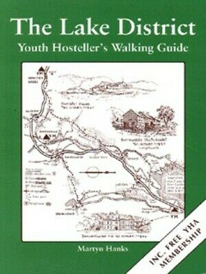 The Lake District: youth hosteller's walking guide by Martyn Hanks (Paperback /