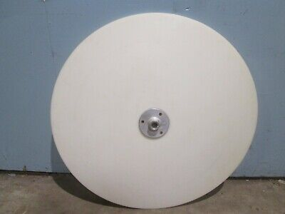 "Industrial Heavy Duty 35½"" Round Poly Top Spinning Rotary Table Top Portion"