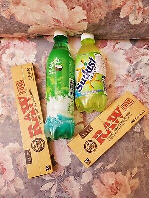 Munchies PAK: 2 Exotic Soda +  Raw Rolling Papers Lean & 98 Special..40 Cones