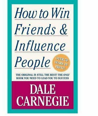 How to Win Friends and Influence People by Dale Carnegie paperback