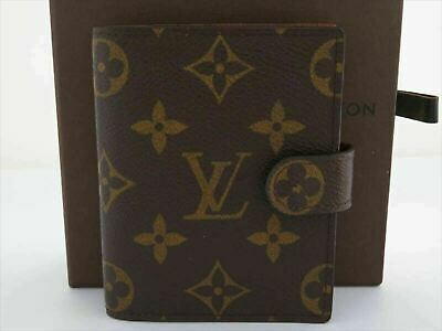 Used AUTH LOUIS VUITTON MONOGRAM AGEDA MINI DAY PLANNER COVER R20007