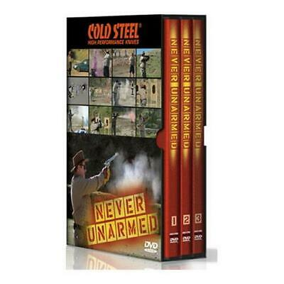 Cold Steel VDNU Never Unarmed Dvd Set Features Lynn Thompson's Discussion On