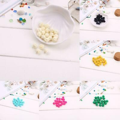 Lots 20pcs Mixed Resin Rose Flower Flatback Appliques For Phone/Wedding/Crafts