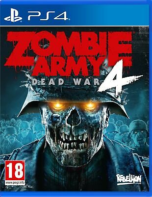 Zombie Army 4: Dead War (PS4)  BRAND NEW AND SEALED - IN STOCK - QUICK DISPATCH