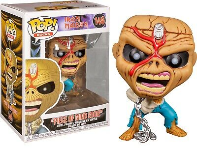 Iron Maiden Music Piece of Mind Eddie POP! Vinyl Figure Toy #146 FUNKO MIB