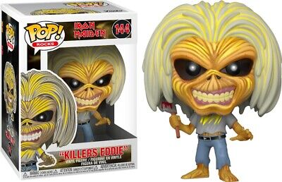 Iron Maiden Music Killers Eddie POP! Vinyl Figure Toy #144 FUNKO MIB