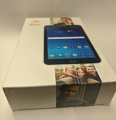 Sprint Samsung Galaxy Tab e SM-T377P Tablet with Box