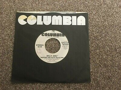 "Billy Joel-Keeping the faith (special mix).7"" demo american"