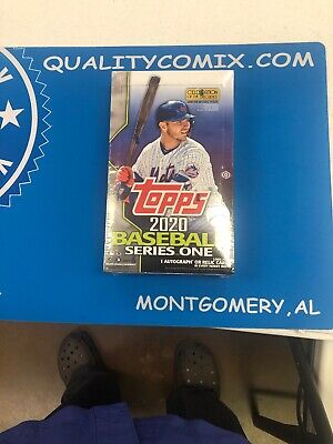 Topps 2020 Series 1 Hobby box Sealed!!