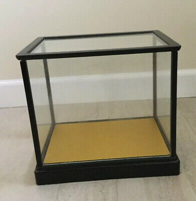 Pre-owned Vintage Japanese Laquer Framed Glass Display Case
