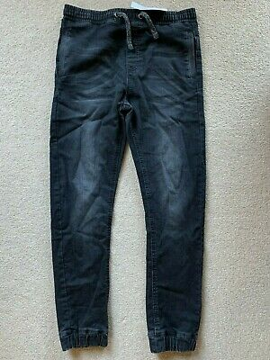 Nwt Marks & Spencer Black Jogger Jeans - Size 11-12 Years