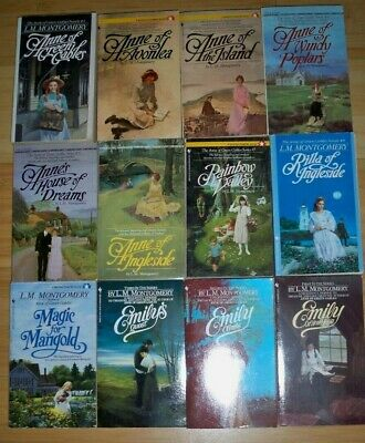 Complete Anne of Green Gables And Emily Series + 1 More, L. M. Montgomery, 12 Bk