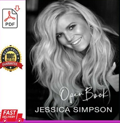 🔥Open Book by Jessica Simpson NEW E-B'0'O'k 🌹🌹 Fast Delivery 2020